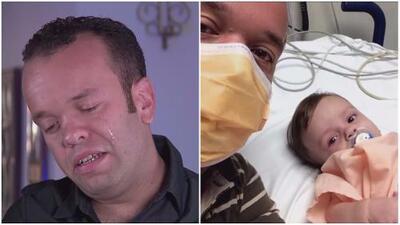 Carlitos 'el productor' llora al dar detalles de la enfermedad de su bebé