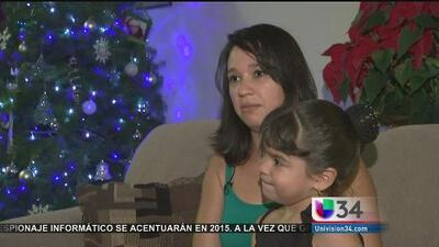 Posada navideña para una familia especial en Los Angeles