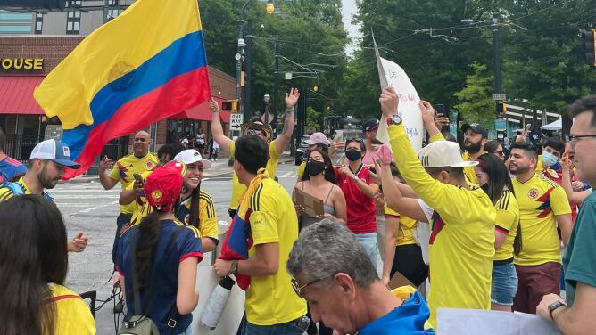 Colombianos en Atlanta se pronuncian tras jornadas de protestas violentas en el país suramericano