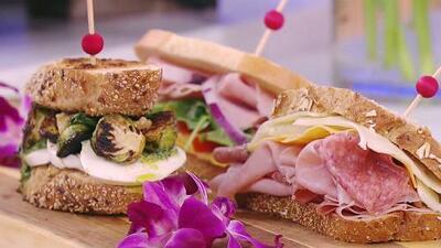 Por frescos y llenos de sabor, estos sándwiches son ideales para preparar en los días calurosos de verano