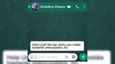 ¡En un mundo paralelo! 'Zidane' y 'Emery' calientan el duelo de Champions por WhatsApp