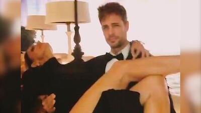 El video de la glamorosa cargada de William Levy a Lili Estefan en Las Vegas