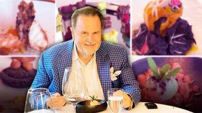 Mira la cara de El Gordo cuando come en uno de los 50 mejores restaurantes del mundo