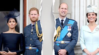 Meghan Markle y el príncipe Harry se separan oficialmente del príncipe William y Kate Middleton