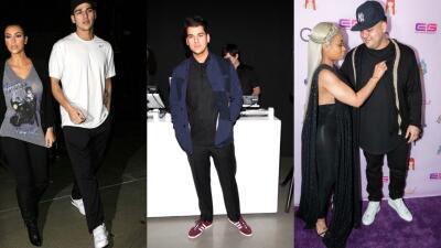 Comprobado y con fotos: el peso de Rob Kardashian baja y sube según su vida amorosa