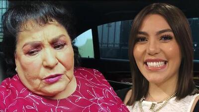 """Así respondió Frida Sofía al cariño ofrecido por Carmen Salinas y """"que no le dio a su hijo"""""""