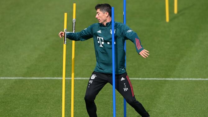 Lewandowski afina su puntería en busca del récord de Gerd Müller
