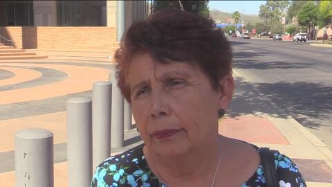 Agente fronterizo en juicio por asesinato pidió no ser visto por familia de la víctima