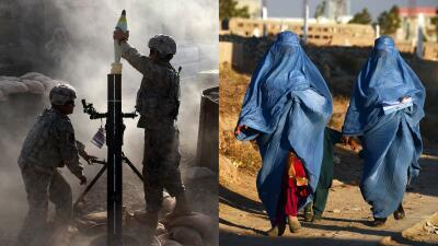 En fotos: 16 años de presencia militar estadounidense en Afganistán