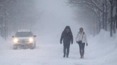 Temperaturas bajas rompen récord en Estados Unidos