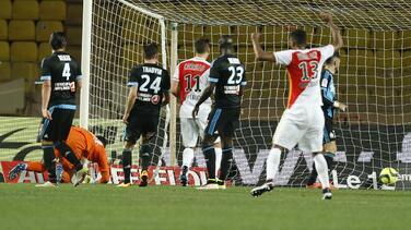 El Marsella pierde en Mónaco y atisba la zona de descenso