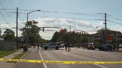 Dos niños y dos adultos resultaron heridos tras ser arrollados por un auto fuera de control