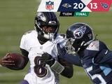 Lamar Jackson y los Ravens pueden con los Titans