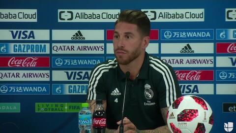 Sergio Ramos se molestó al ser cuestionado sobre posible regreso de Mourinho
