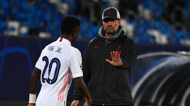"Klopp sobre Vinicius: ""Me impresionó... talento sobresaliente"""
