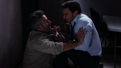 Carlos golpeó a Alan por haber causado que su boda con Alejandra se arruinara