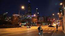 Se avecina una noche de viernes fría y sin lluvia en Chicago