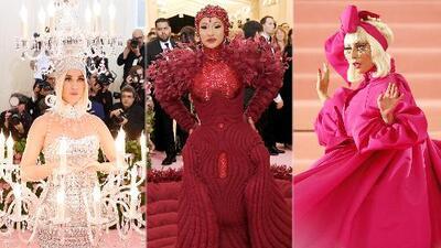 Katy Perry, Cardi B y Lady Gaga demostraron que sí saben de qué trata la Met Gala (a diferencia de JLo)
