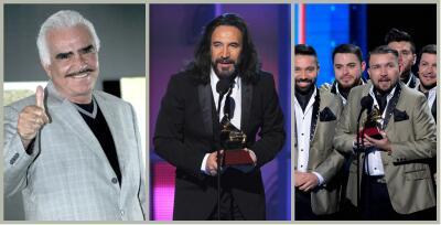 'El Buki', Vicente Fernández y otros ganadores de Mejor Canción de Regional Mexicano en los Latin GRAMMY