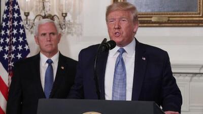 Trump afirma que rechaza la violencia con armas, pero no entrega soluciones concretas para frenar este flagelo en el país