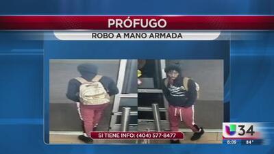 Buscan a presunto ladrón armado que frecuenta Walmart de Gwinnett