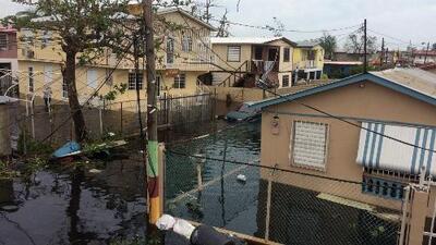 Inundaciones y daños en Puerto Rico y República Dominicana por el paso del huracán María