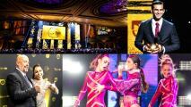 Recuento de la espectacular noche de los premios Balón de Oro en Los Ángeles