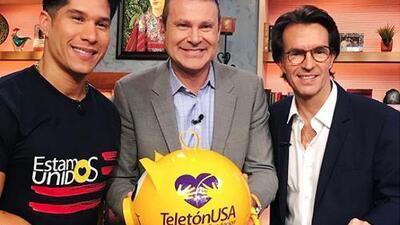 Fernando Landeros y Chyno Miranda resaltaron la importancia de la unión en el próximo Teletón USA