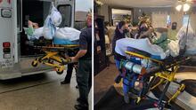 Regresa a casa hombre que luchó contra el coronavirus internado varios meses en un hospital de Houston