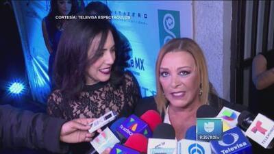 Sylvia Pasquel está muy emocionada de encarnar a su madre en la serie sobre su vida