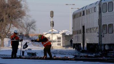 Los servicios de Metra, Amtrak y CTA se ven afectados este día de frío extremo