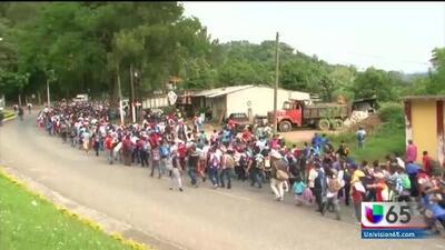 Reacciones de residentes y activistas sobre las caravanas de inmigrantes centroamericanos