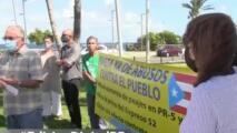 Se manifiestan frente al Capitolio para exigir se deje sin efecto el aumento en los peajes