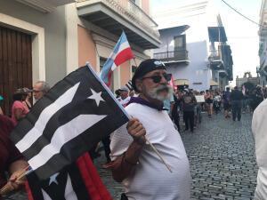 Los puertorriqueños salen de nuevo a las calles de San Juan a exigir la renuncia de Rosselló