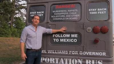 Republicano que prometió 'autobús de la deportación' pide perdón