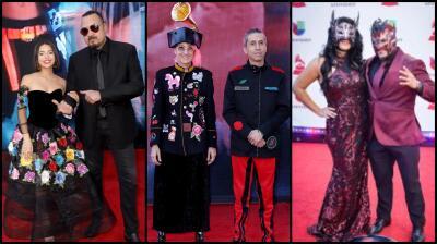 ¿Quién llegó con quién a la alfombra roja de los premios Latin GRAMMY 2018?