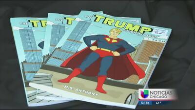 Libro para colorear de Donald Trump causa controversia