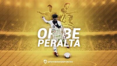 ¡Hermosos! Oribe Peralta: a 16 años de su debut