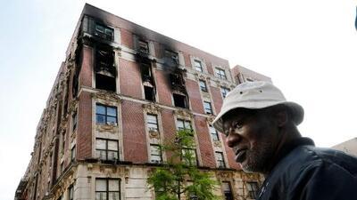 Mueren cuatro niños y dos adultos en un incendio en el barrio neoyorquino de Harlem