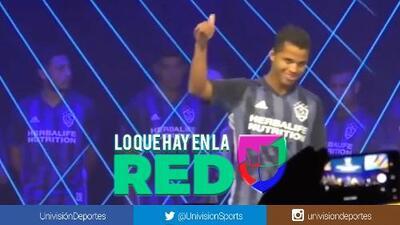 Así fue abucheado Giovani dos Santos en la presentación de la playera del Galaxy