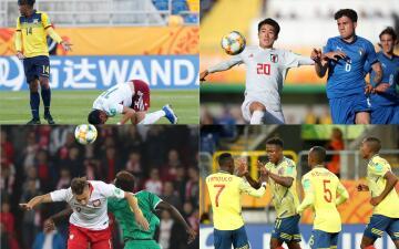 La goleada de Colombia y la eliminación de México destacan en la jornada del día en Polonia 2019