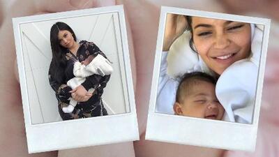 La hija de Kylie Jenner ya reconoce la voz de su mamá y con este tierno gesto le responde