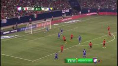 México vs Bosnia: Cabezazo de Senad Lulic