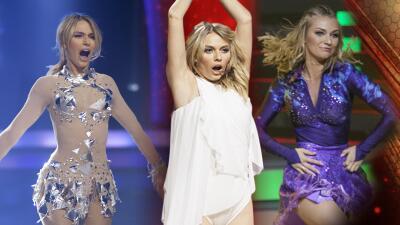 Del baile a la cero acción: así fue el paso de Irina Baeva por la pista de Mira Quién Baila