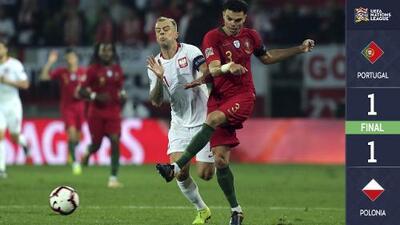 Polonia no pudo ganarle a Portugal que celebró su pase al Final Four avanzando invicta