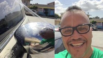 Hermano de Jenni Rivera nos muestra cómo no se debe arreglar un auto con cemento