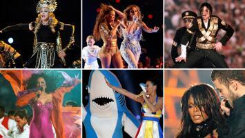 Los 9 shows del medio tiempo más comentados del Super Bowl