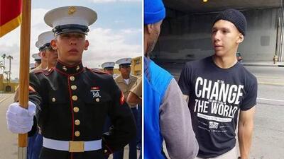 Carlos el marine, un héroe anónimo asesinado en la comunidad por la que luchó