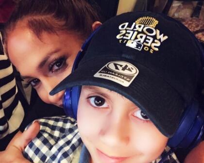 También con su hijo Max, quien el próximo 22 de febrero cumple 12 años.