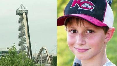 Demolerán el tobogán de agua en Kansas donde murió un niño de 10 años en agosto